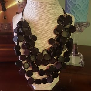 Black Statement Necklace